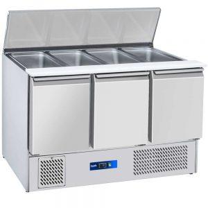 یخچال کانتر تاپینگ سرد،تاپینگ پیتزا