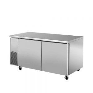 یخچال میز کار و فریزر میز کار تمام استیل
