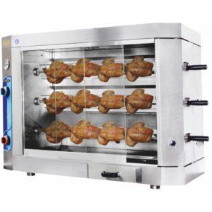 دستگاه جوجه گردان - دستگاه مرغ بریان - گازی